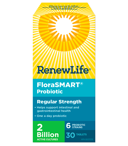 FloraSMART Regular Strength 30