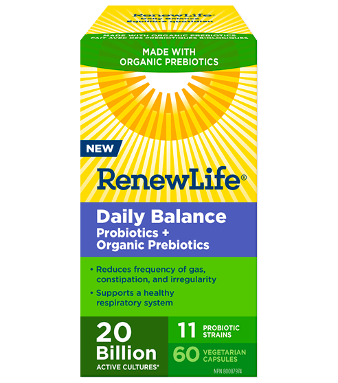 Organic Daily Balance 60