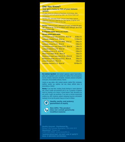 UltimateFloraSS Critical Care 20