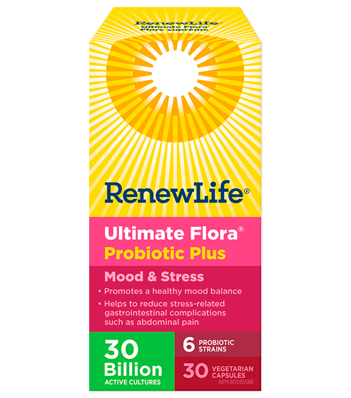 UltimateFlora Mood & Stress 30, image 1